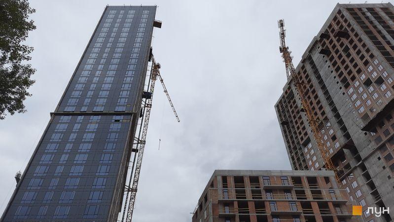 Хід будівництва ЖК Метрополіс, 3 будинок, вересень 2021