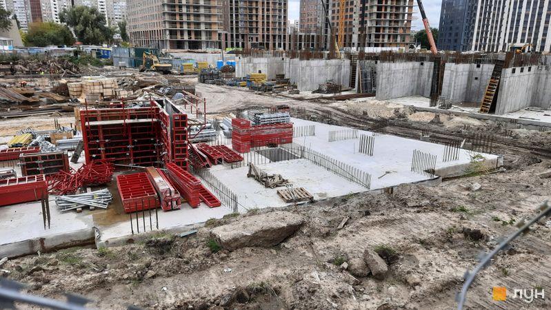 Хід будівництва ЖК Метрополіс, 4 будинок (секція 4), вересень 2021