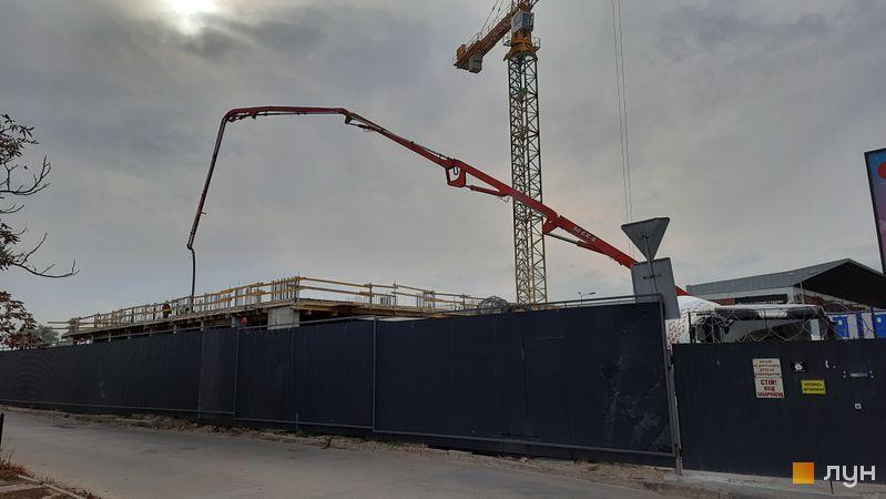 Хід будівництва Kub29, Будинок, жовтень 2021