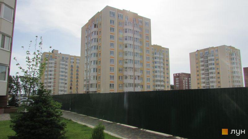Ход строительства ЖК Петровский квартал, 8 очередь (ул. Леси Украинки, 10а), июнь 2016