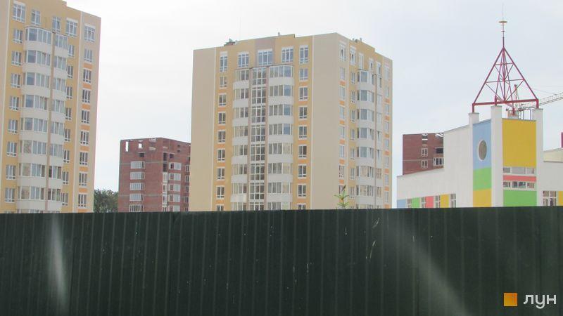 Ход строительства ЖК Петровский квартал, 8 очередь (ул. Леси Украинки, 10в), июнь 2016