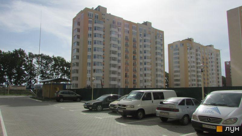 Ход строительства ЖК Петровский квартал, 8 очередь (ул. Леси Украинки, 10), июнь 2016