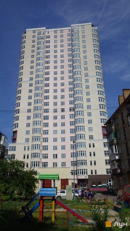 Хід будівництва ЖК Будинок на Клименка, Будинок 1, липень 2014