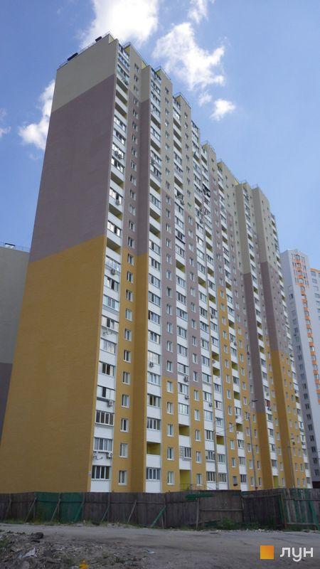 Хід будівництва ЖК Милославичі, 2 черга (будинок 6), липень 2014