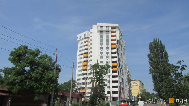 Ход строительства ЖК Квітневий Residence, Дом, июнь 2016