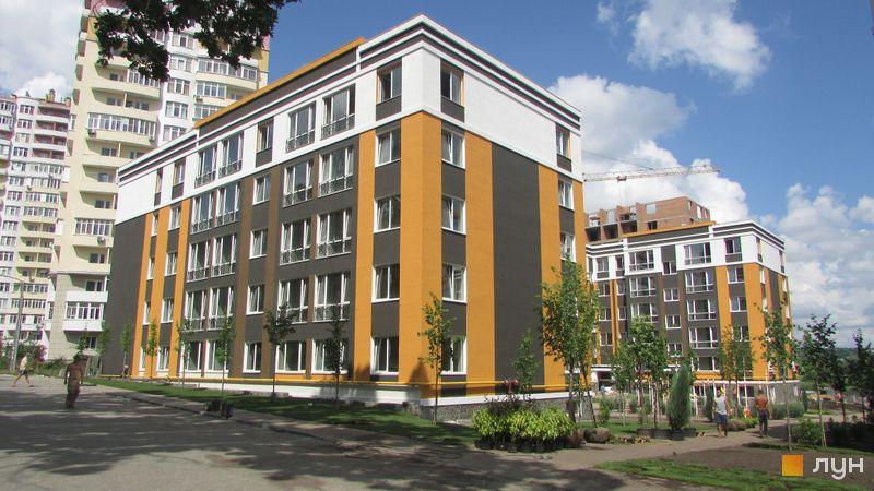 Ход строительства ЖК Фортуна-2, ул. Джерельная, 8, июль 2016