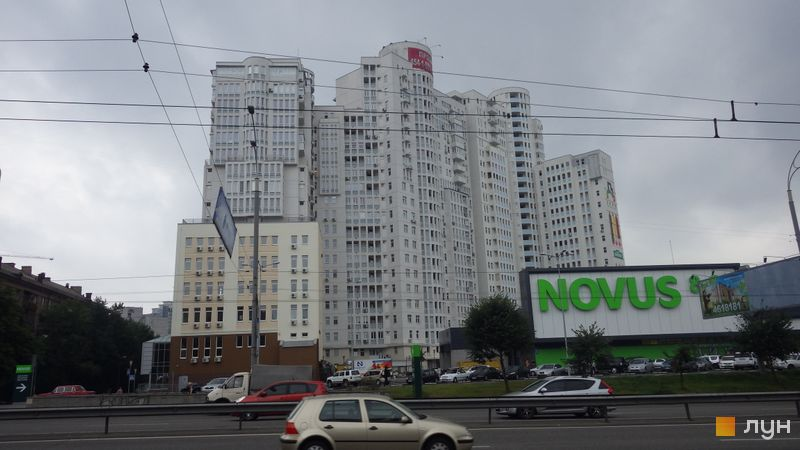 Ход строительства ЖК Печерский квартал, 1-3 секции, июль 2014