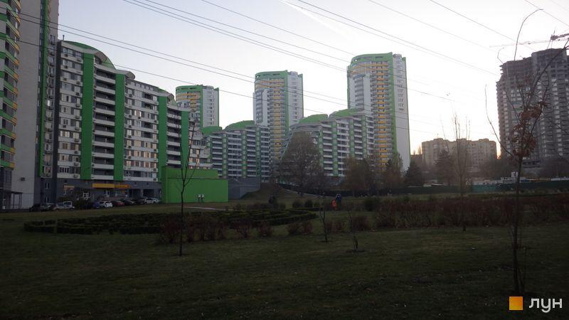 Хід будівництва ЖК Паркове місто, 4-6 черги (будинки 15-22), листопад 2014
