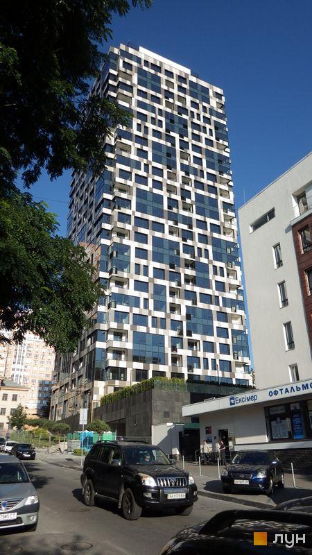 Хід будівництва ЖК Tetris Hall, Будинок 1, липень 2016