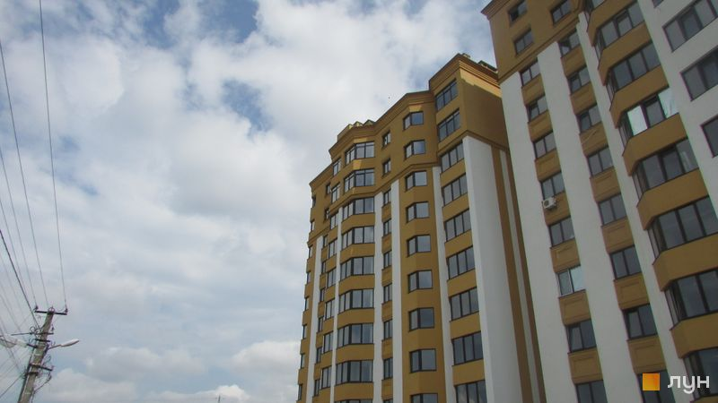 Ход строительства ЖК Счастливый на Петропавловке, 6 дом (ул. Соборная, 10 д/1), август 2016