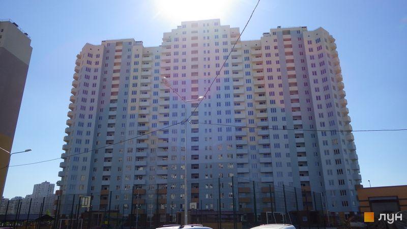 Хід будівництва ЖК Милославичі, 4 черга (будинок 4), серпень 2016