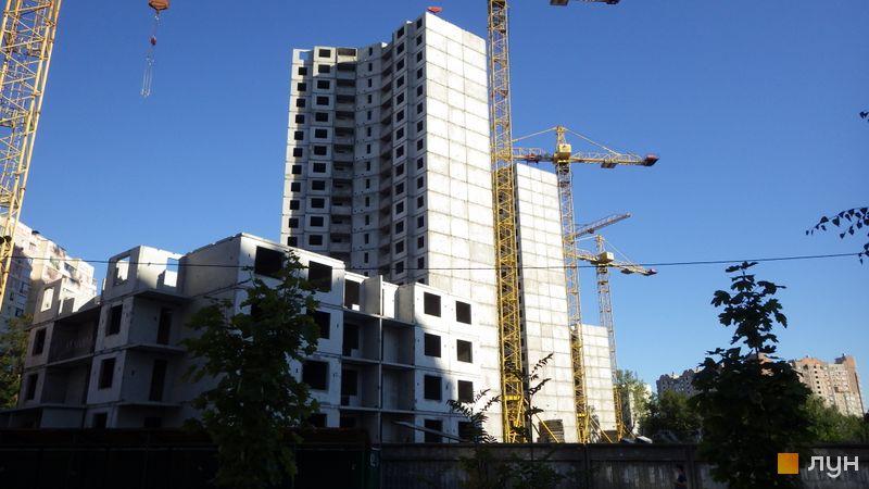 Ход строительства ЖК Эврика, Дом 10, август 2016