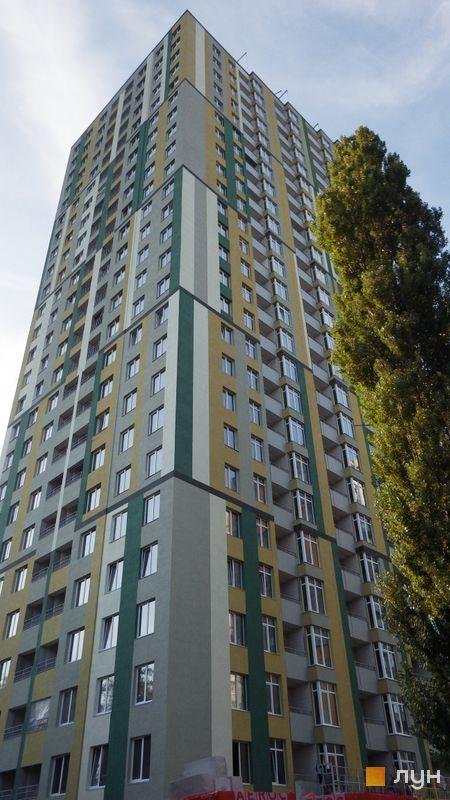 Хід будівництва ЖК Грюнвальд, 5 будинок (вул. Клавдіївська, 40д), вересень 2016