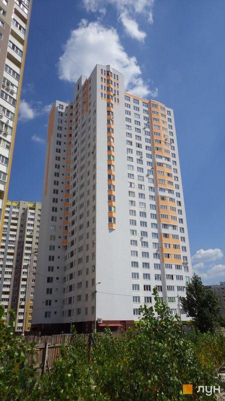 Хід будівництва ЖК Милославичі, 2 черга (будинок 7), липень 2014