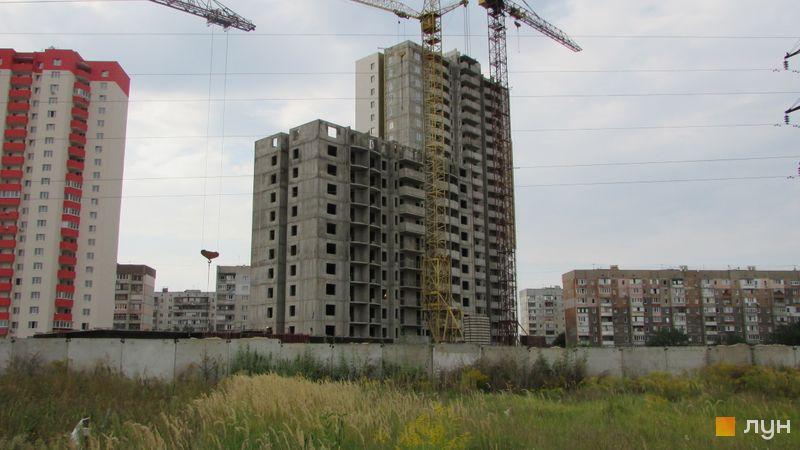 Хід будівництва ЖК Олімпійський, 6-7 будинки, вересень 2016