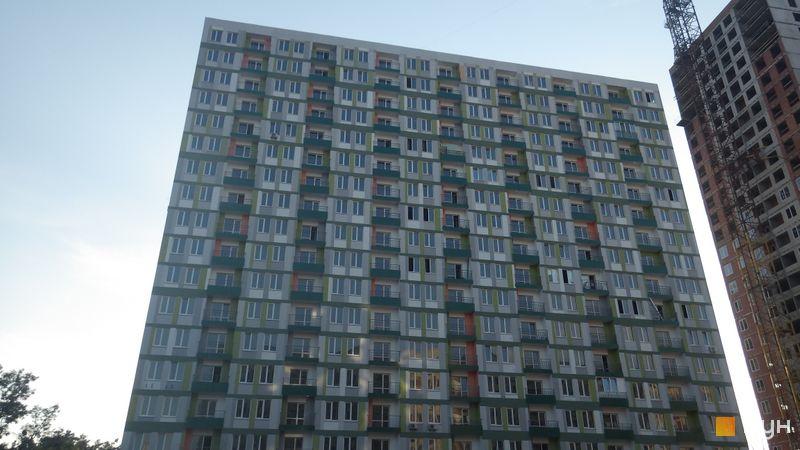 Хід будівництва ЖК Грюнвальд, 3 будинок (вул. Клавдіївська, 40г), липень 2014