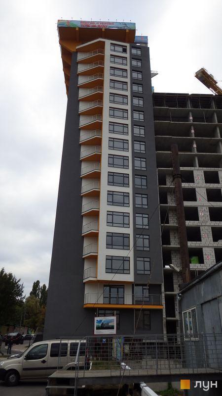 Ход строительства ЖК Champion City (Демеевский квартал), 2 секция, сентябрь 2016