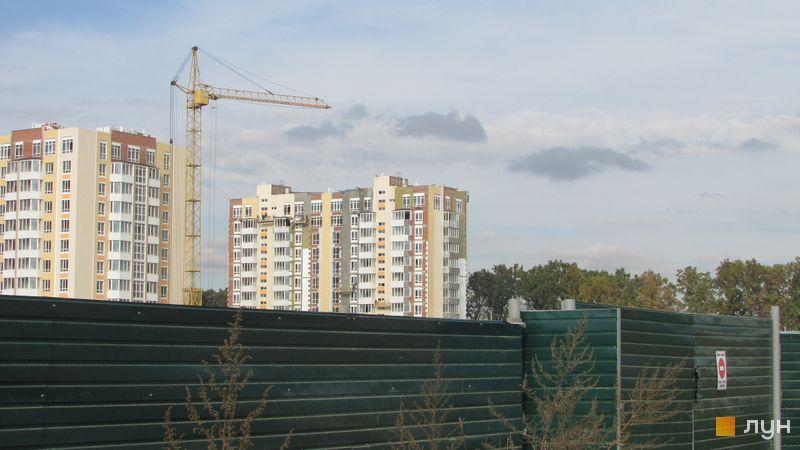 Ход строительства ЖК Петровский квартал, 9 очередь (ул. Леси Украинки, 14), октябрь 2016