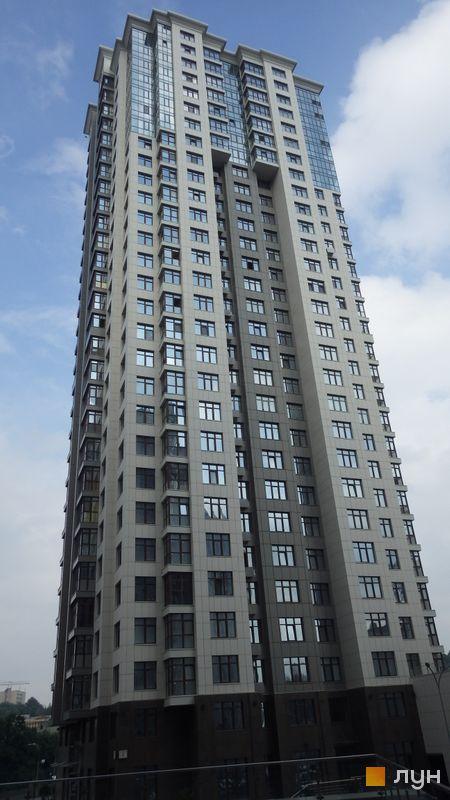 Хід будівництва ЖК Новопечерські Липки, вул. Михайла Драгомирова, 7, липень 2014