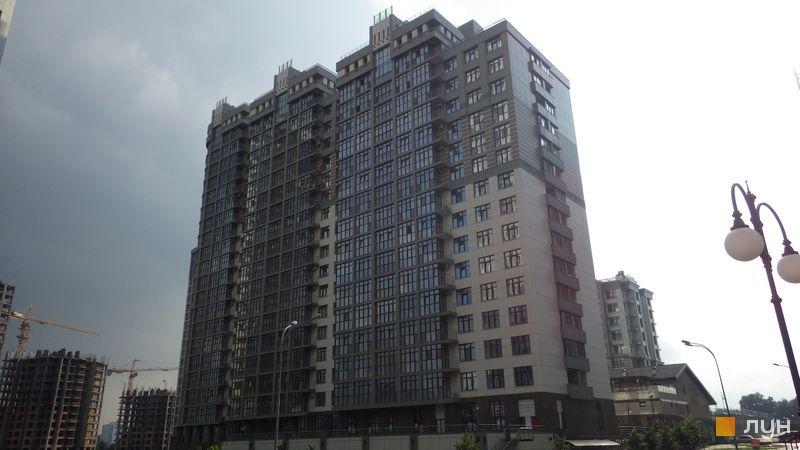 Хід будівництва ЖК Новопечерські Липки, вул. Михайла Драгомирова, 16, липень 2014