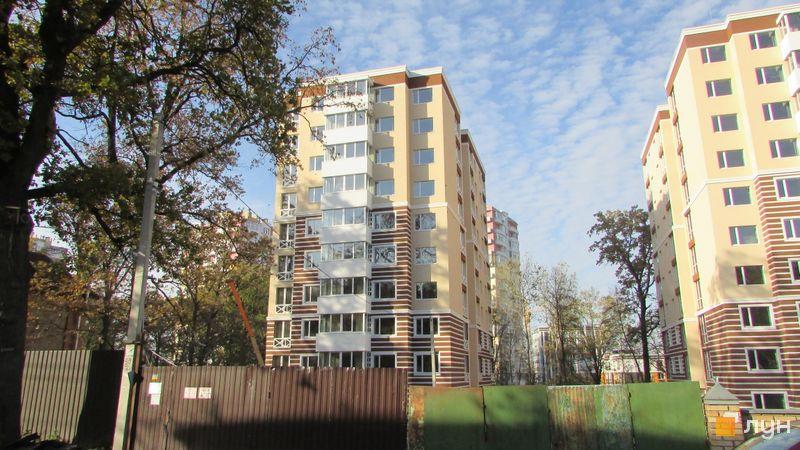 Ход строительства ЖК Прованс, Дом 1, октябрь 2016