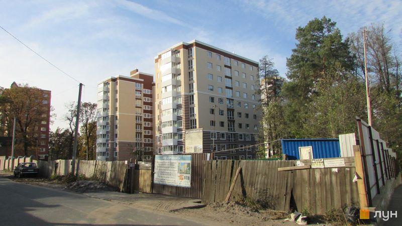 Ход строительства ЖК Прованс, Дома 1-2, октябрь 2016