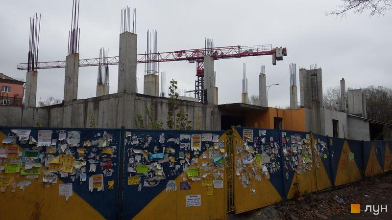Ход строительства ЖК UNO City House, , ноябрь 2016