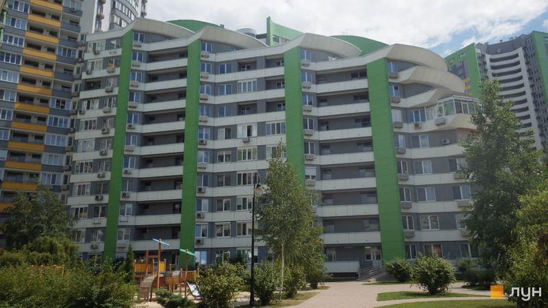 Хід будівництва ЖК Паркове місто, 1 черга (будинки 1-4), липень 2014