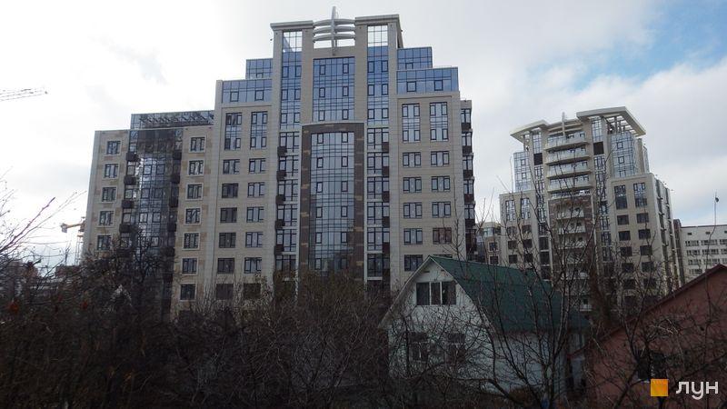 Ход строительства ЖК Бульвар Фонтанов, 3 дом, ноябрь 2016