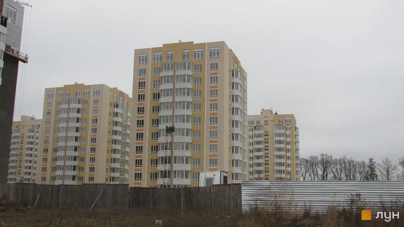 Ход строительства ЖК Петровский квартал, 9 очередь (ул. Леси Украинки, 14б), ноябрь 2016