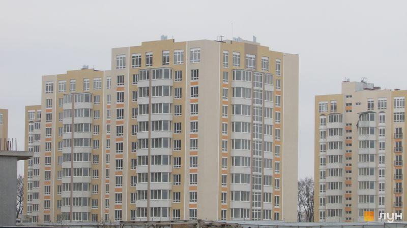 Ход строительства ЖК Петровский квартал, 9 очередь (ул. Леси Украинки, 14а, 14б), ноябрь 2016