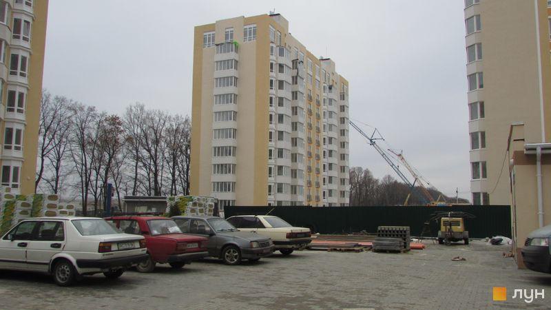 Ход строительства ЖК Петровский квартал, 9 очередь (ул. Леси Украинки, 14), ноябрь 2016