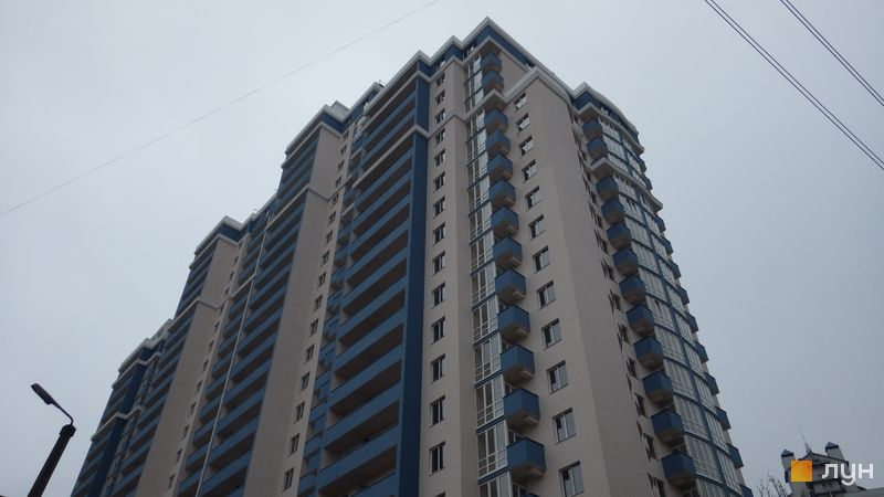 Хід будівництва ЖК Старокиївський, Будинок 1, листопад 2016