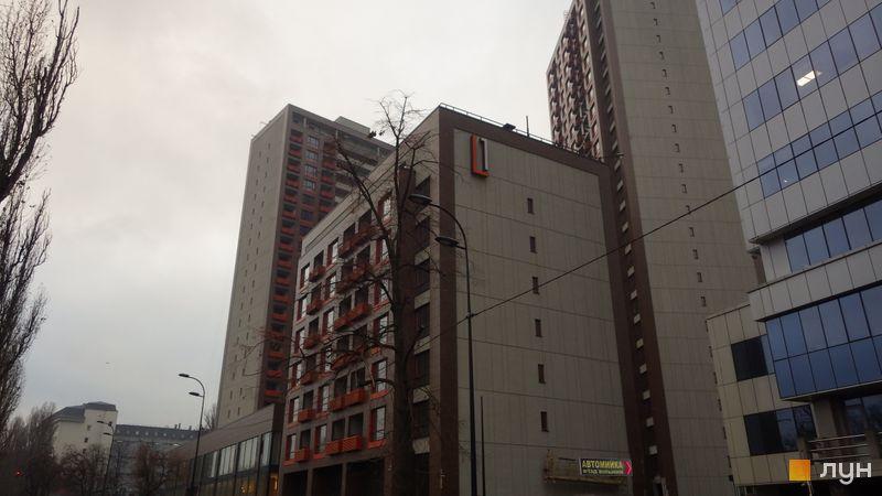 Хід будівництва ЖК L-квартал, Секція L1 (бул. Вацлава Гавела, 6/7-А), листопад 2016