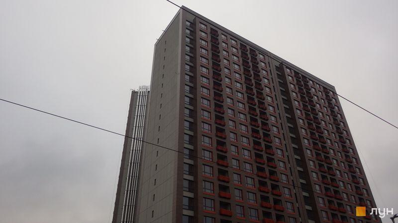 Хід будівництва ЖК L-квартал, Секція L2-3 (бул. Вацлава Гавела, 6/7-А), листопад 2016