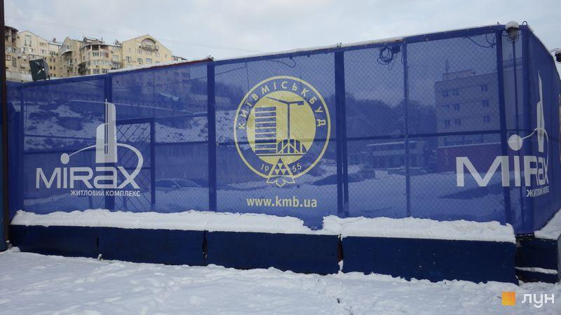 Ход строительства ЖК Mirax, , декабрь 2016