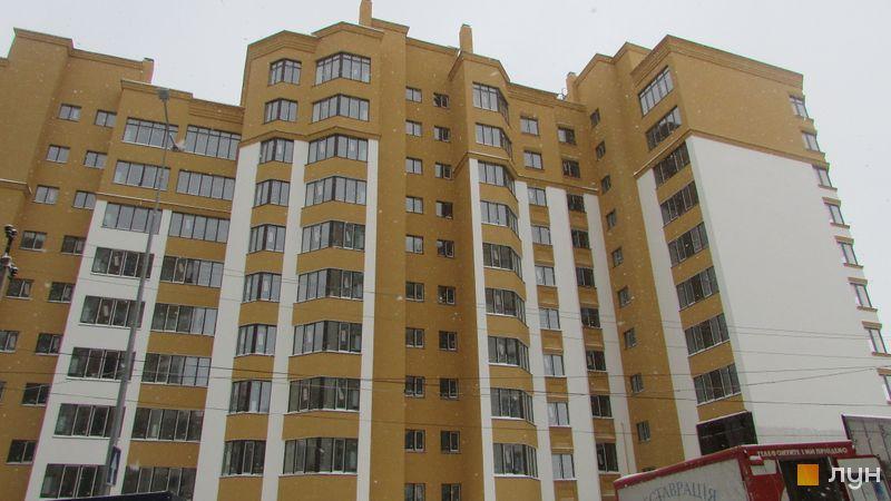 Ход строительства ЖК Счастливый на Петропавловке, 7 дом (ул. Соборная, 14 а,б,в), декабрь 2016