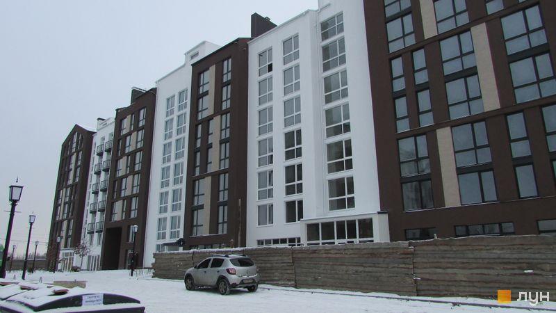 Ход строительства ЖК Белый Шоколад.Center, 7 очередь (ул. Величко, 8а, 8б), декабрь 2016