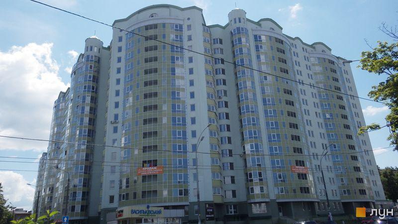 Ход строительства ЖК Васильковский, Дом, июль 2014