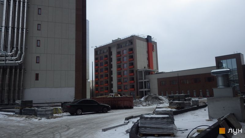 Хід будівництва ЖК L-квартал, Секція L1 (бул. Вацлава Гавела, 6/7-А), грудень 2016