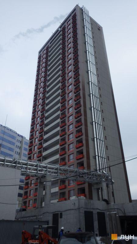 Хід будівництва ЖК L-квартал, Секція L4 (бул. Вацлава Гавела, 6-В), грудень 2016