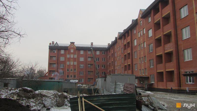 Ход строительства ЖК Borispol DeLuxe, Дом 1, декабрь 2016