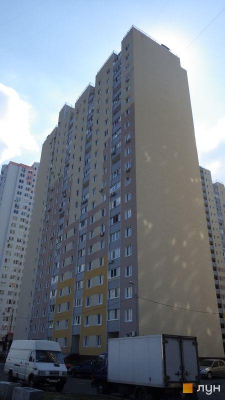Хід будівництва ЖК Милославичі, 1 черга (будинок 12), липень 2014