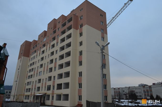 Хід будівництва вул. Сухомлинського, 14, секція Б, грудень 2016