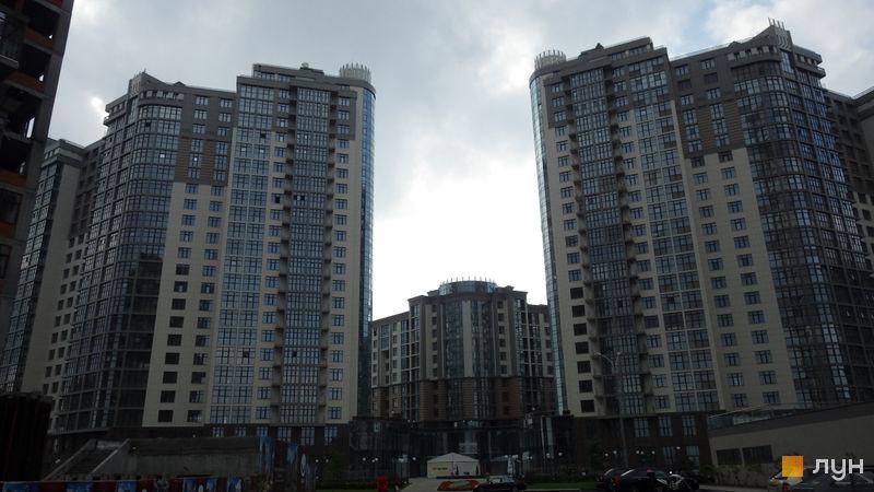 Хід будівництва ЖК Новопечерські Липки, вул. Михайла Драгомирова, 18а, липень 2014