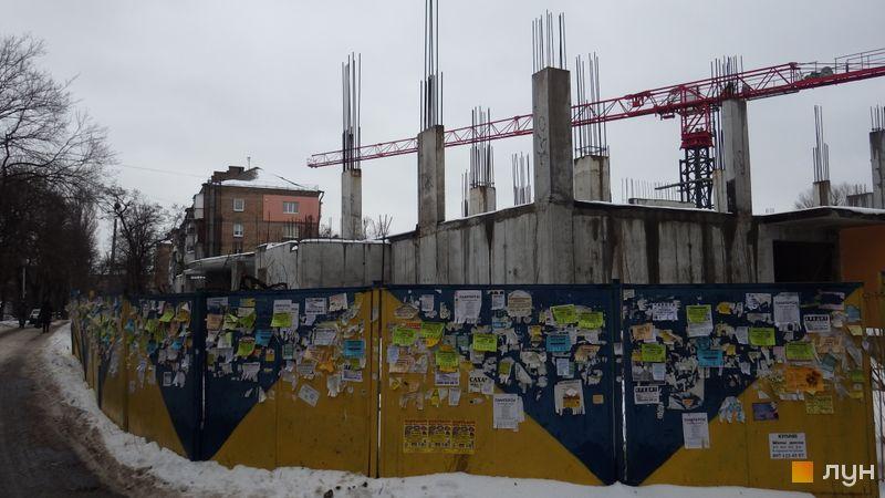 Ход строительства ЖК UNO City House, , январь 2017