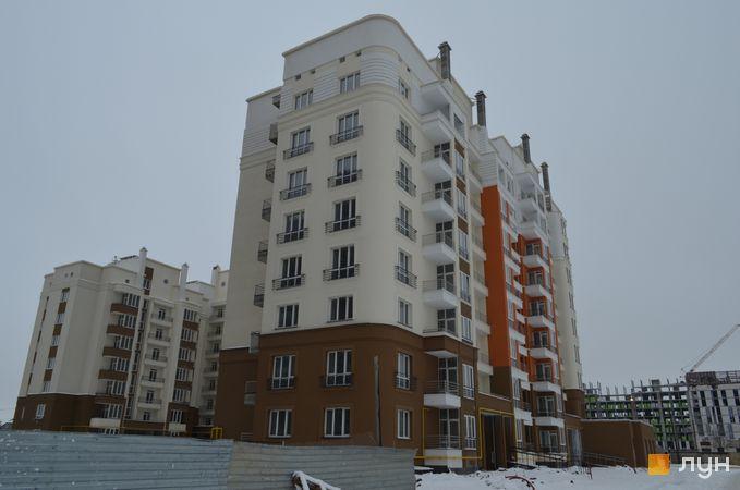 Хід будівництва ЖК на Стрийській, 1 будинок, січень 2017