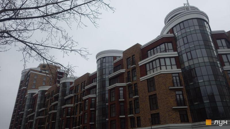 Ход строительства Клубный дом «Малевича, 48», 1-5 секции (ул. Казимира Малевича, 48), январь 2017