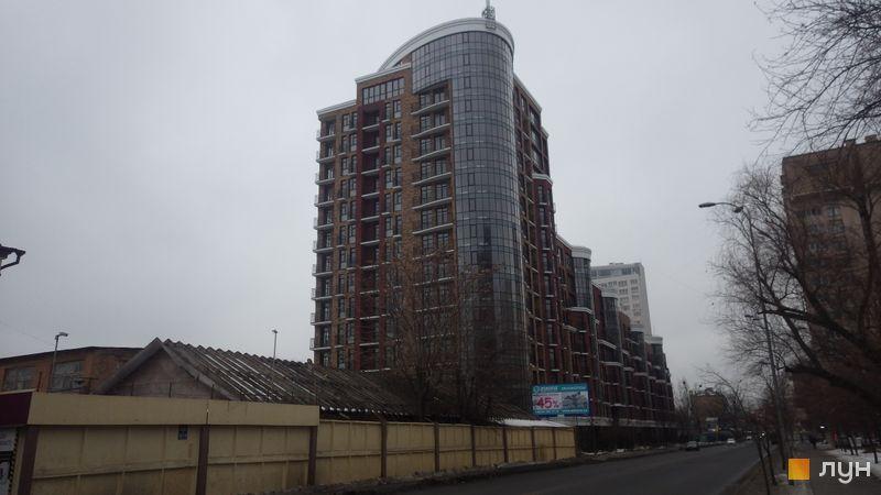 Ход строительства Клубный дом «Малевича, 48», 6 секция, январь 2017
