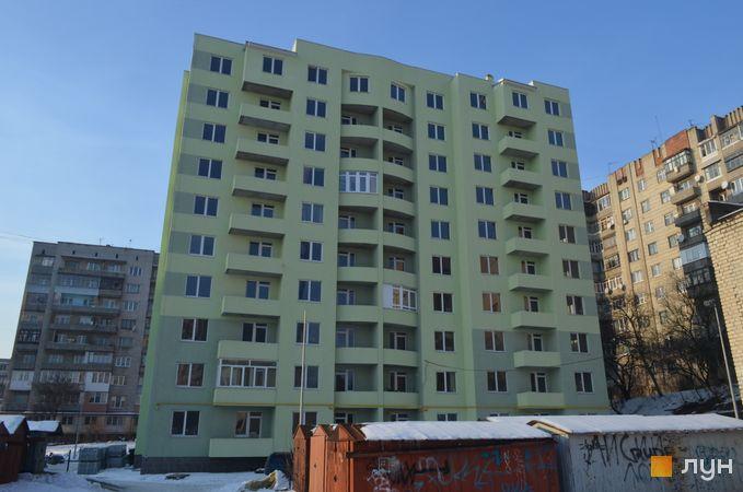 Хід будівництва вул. Яцкова, 20б, Будинок 1, січень 2017